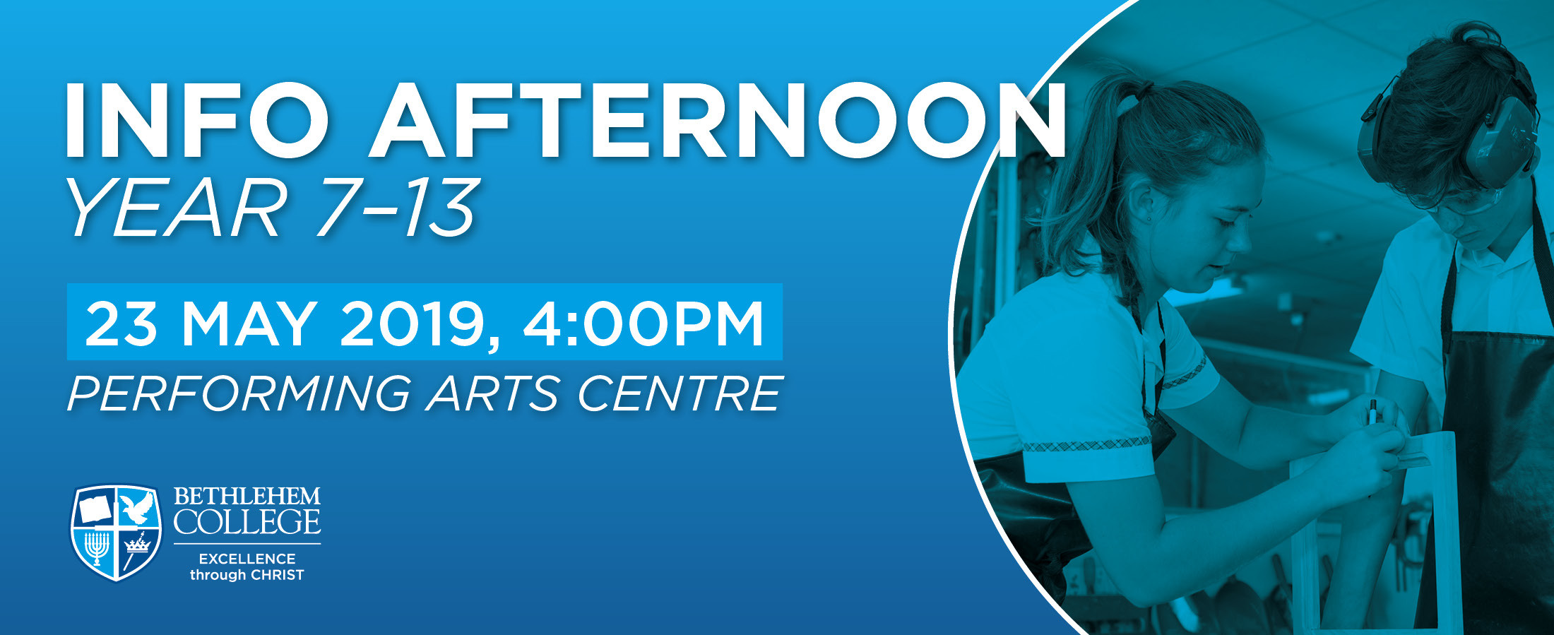 Info Afternoon Year 7-13